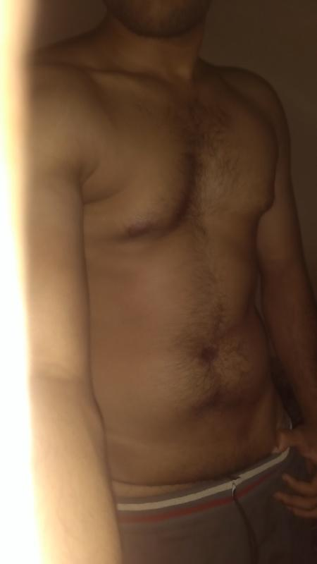 Do I look too hairy or skinny or unhealthy?
