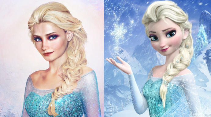 Which princess from Frozen is cuter in real life?
