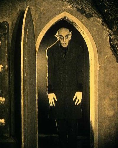 How would you react if you see Count Orlok from Nosferatu popped out of your bedroom closet out of no where?