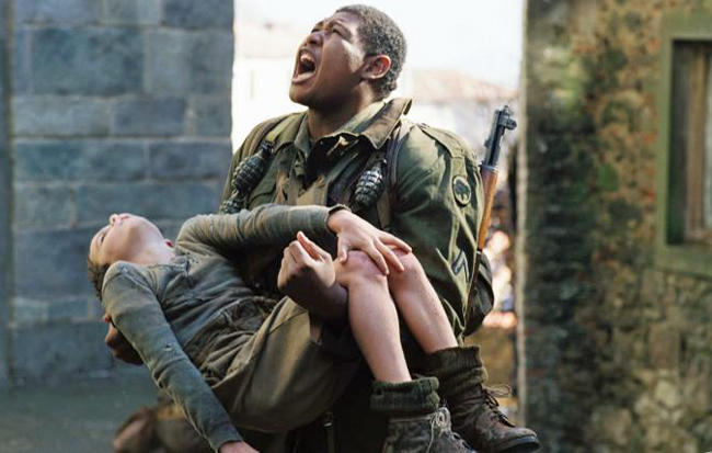 Why is it in Hollywood movies, black people very often die courageously saving a WHITE PERSON?