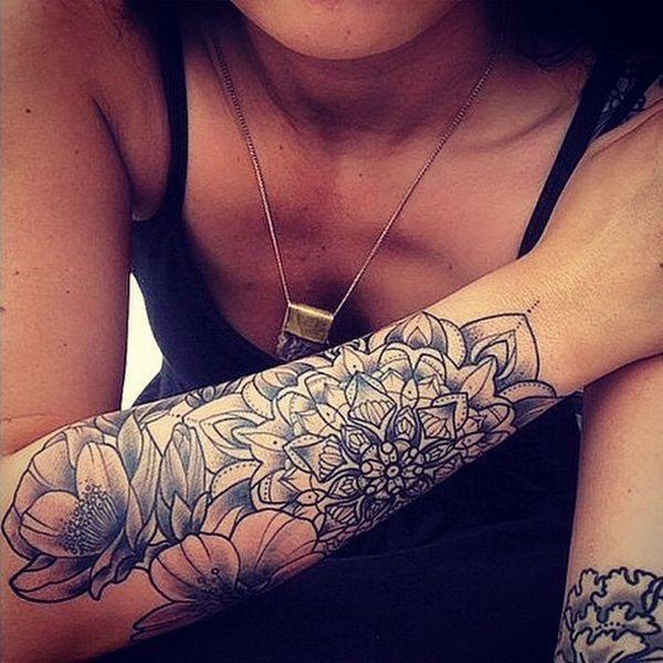 What do you think of big tattoos for girls?