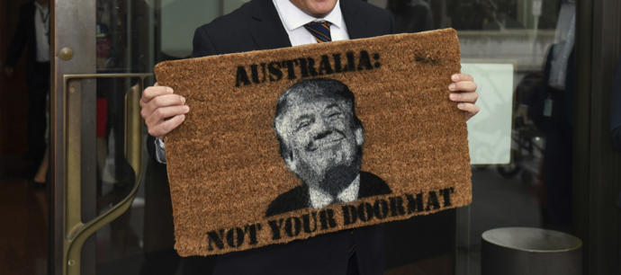 What is happening between the U.S. and Australia?
