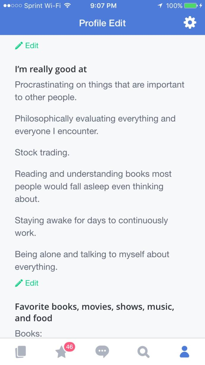 Do you think my profile on OkCupid is any good?