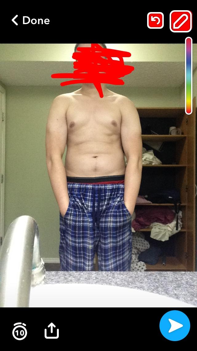 Girls give me your opinions am I fat for 16?