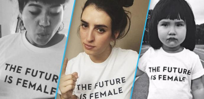 If feminism is for equality, why are they now using the phrase