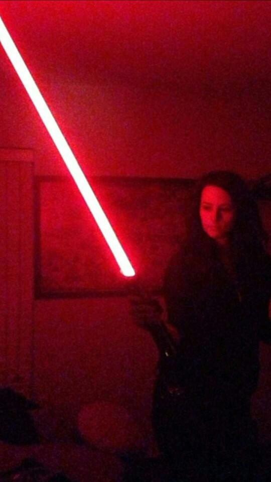 anyone else collect lightsabers??