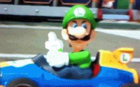 Do you think the Luigi death stare from Mario Kart 8 is the funniest thing Nintendo has done in a long time?