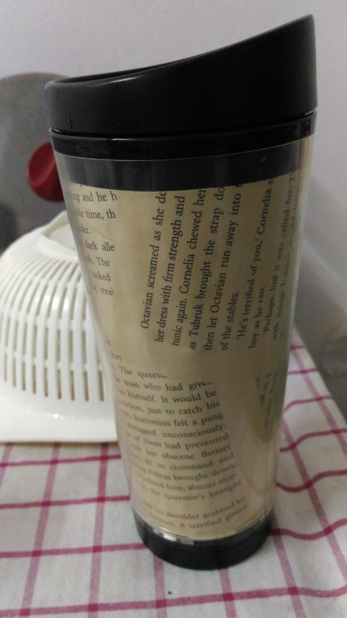 Does this coffee cup give a good or bad impression to you about the owner?