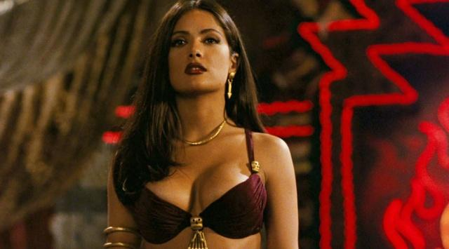 Would you let Salma Hayek turn you into her vampire slave?