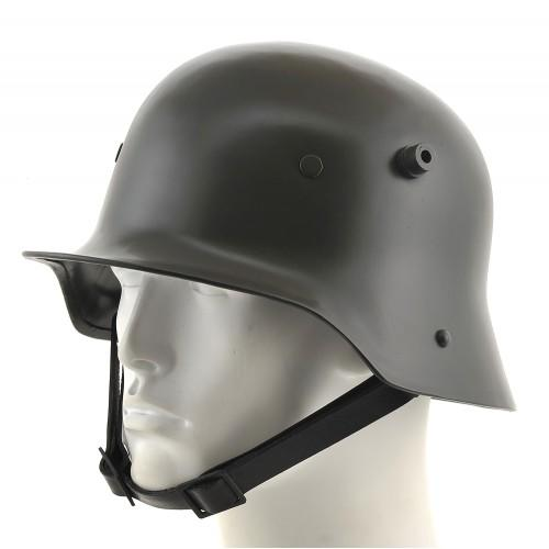 Have you ever worn a stahlhelm or a pickelhaube before?