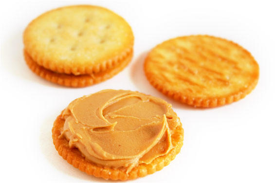Oreos or peanut butter crackers?