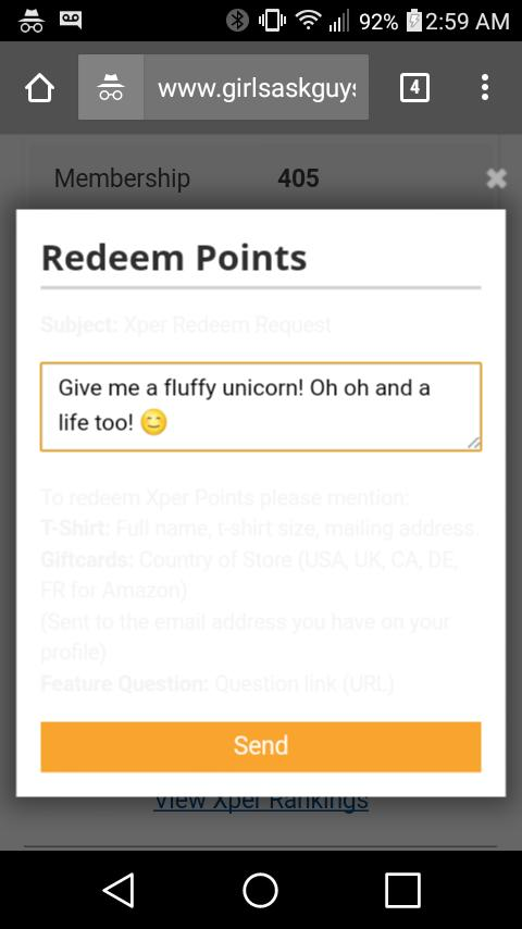 What is this redeem xper thing? How to I use it?