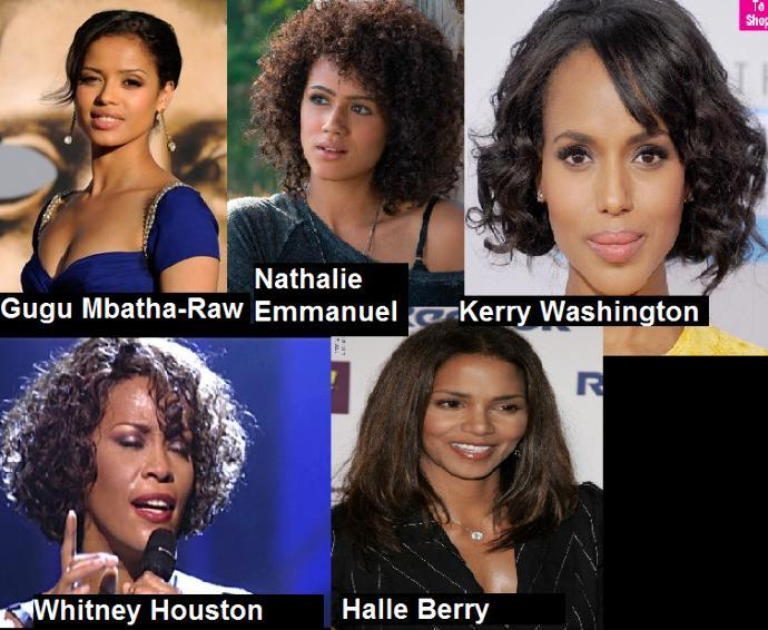 Name the hottest celebs of each ethnicity/race?