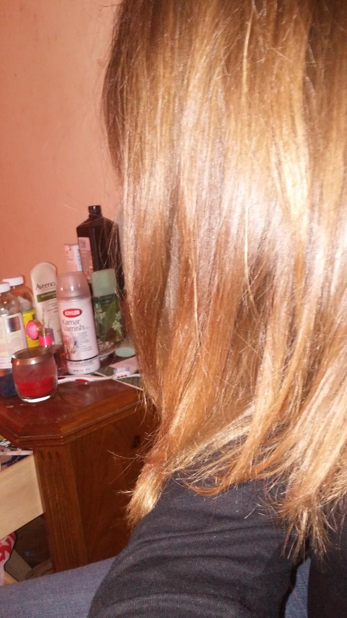 What color is my hair?