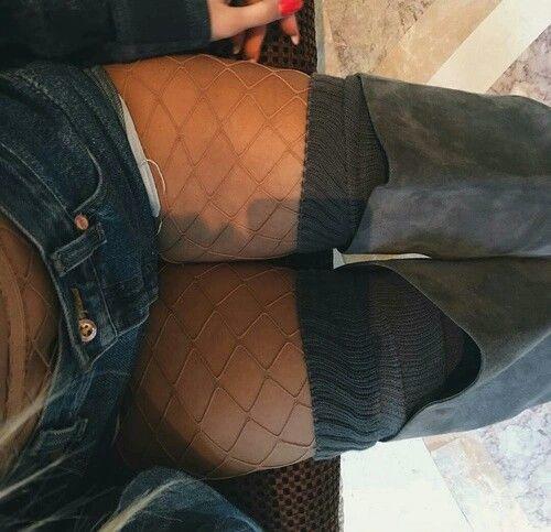 Do you like fishnet stockings?