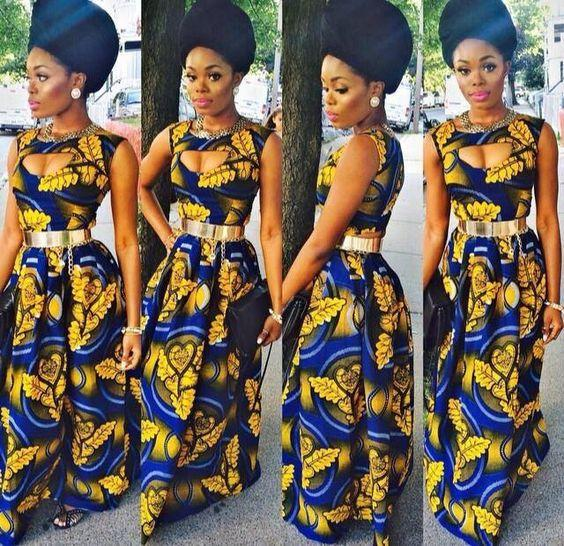 Do you like 2016 Ghanaian women's latest traditional clothing fashion styles?