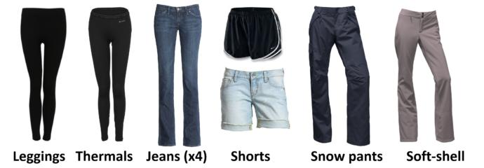 Here is my entire wardrobe. Can you pick my outfit of the day for me?