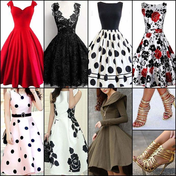 Which dress you like?