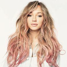 Should I dye my blonde hair with a washout pink color(ombré style)?