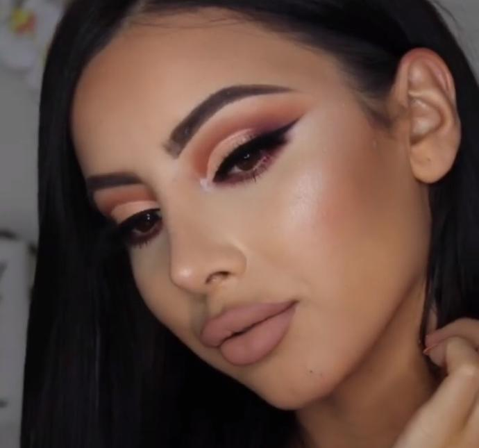 what do you think about this girls makeup? (guys/girls both)?