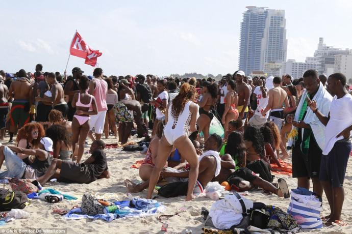 Spring break people are enough reason to hate humanity?