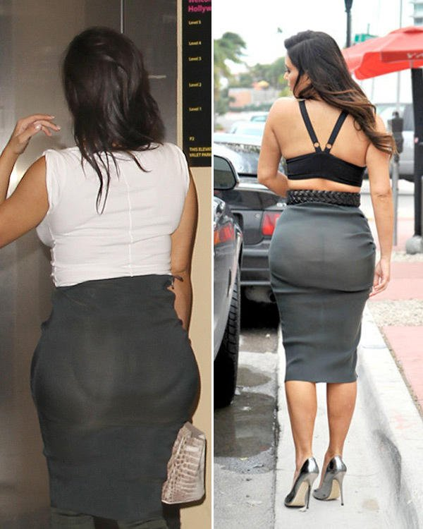 Do men notice when a woman wears an ass pad.. especially under dresses?