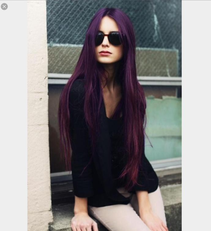 Would you find a girl with purple hair attractive?
