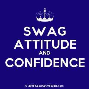 A girl with attitude Vs. A girl with high confidence what do you prefer??