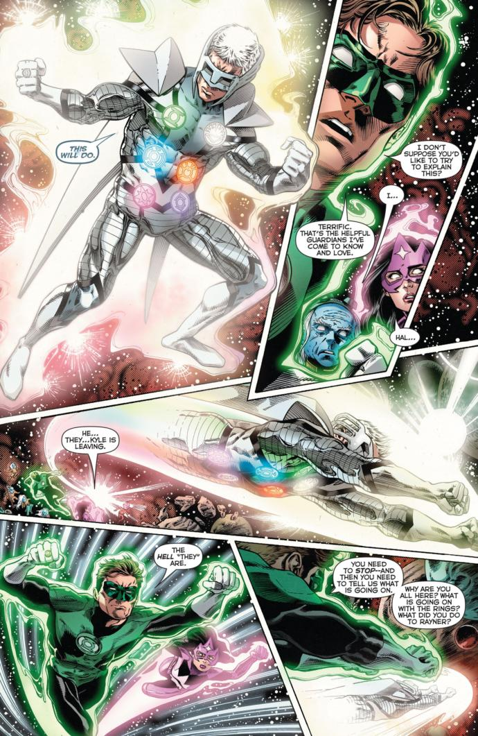 White Lantern Kyle Rayner vs. Superboy Prime... Who would win?