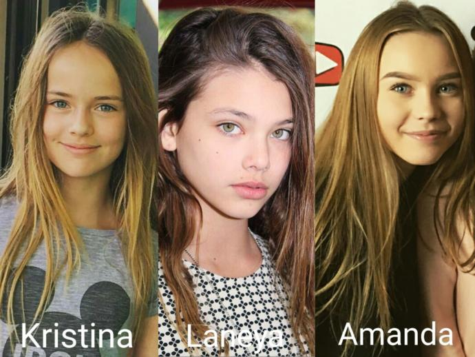 Which adorable girl is more beautiful?