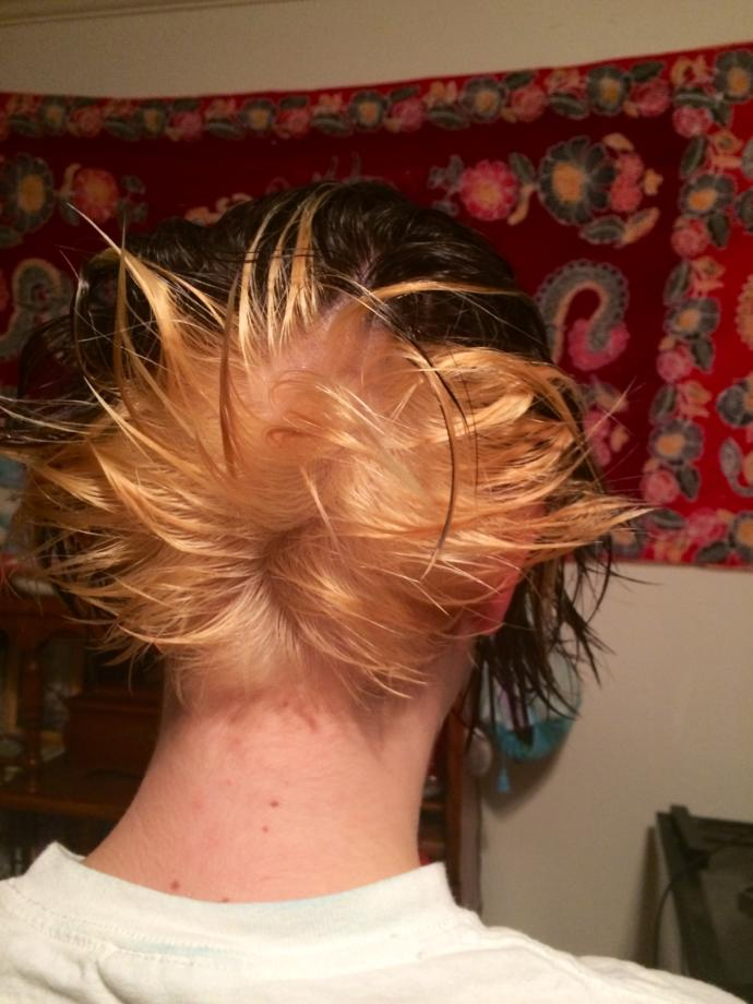 Have you ever messed up your hair to the point you actually had melt down?