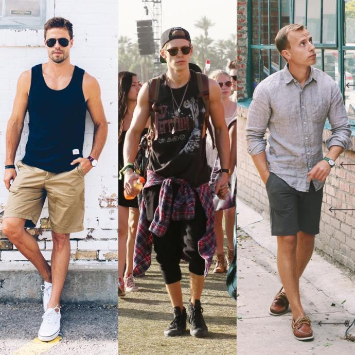 What summer style do you find more attractive on a guy and why?