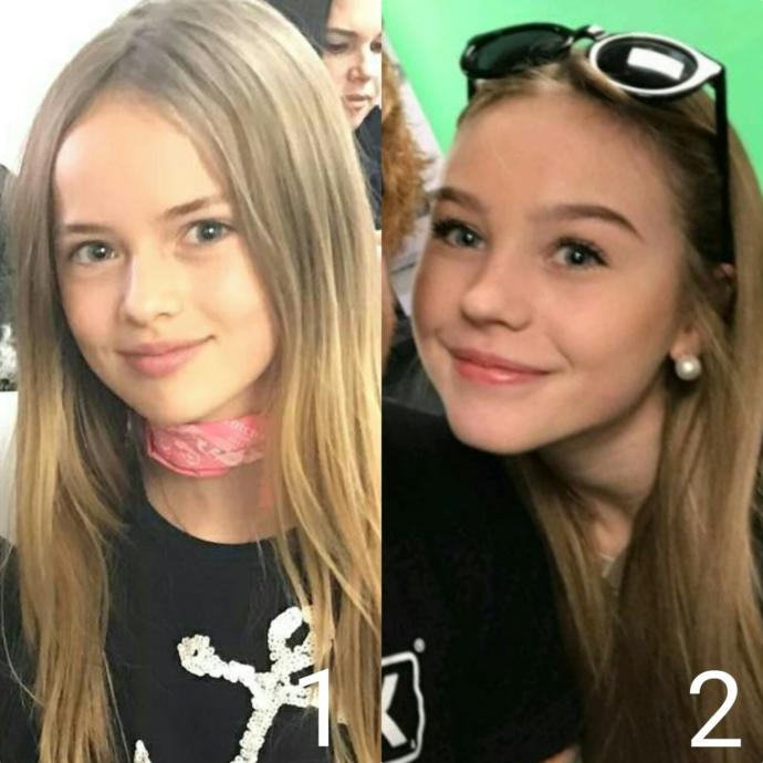 Which cute girl is looking more beautiful?