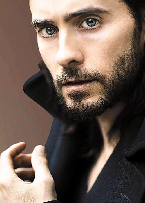 Jared Leto with facial hair or without it?