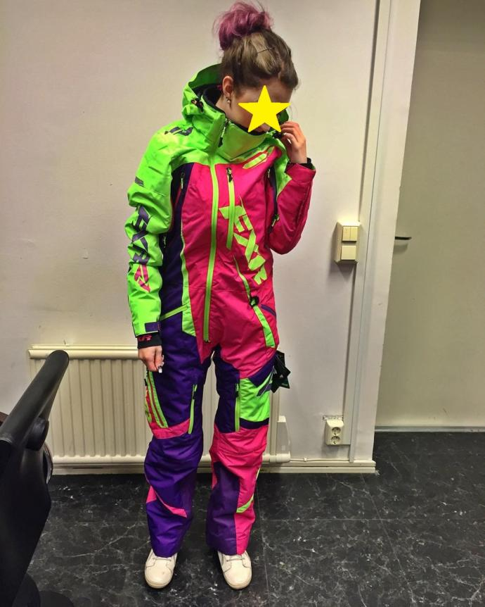 What would you think if you saw me wearing this on my bicycle if it's raining?