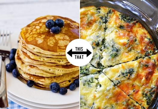 Do you favor sweet or savory breakfast?