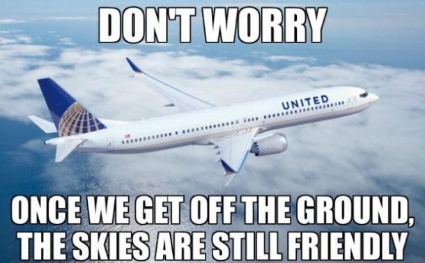 Are you liking these funny United Airlines memes?