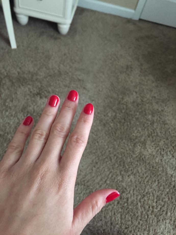 Did I do a pretty good job painting my nails?