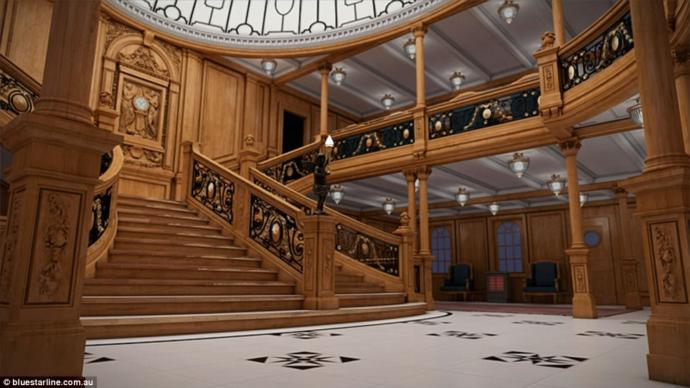 Replica RMS Titanic II: Would you like to take a vacation on Titanic II?