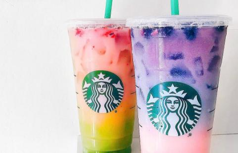 Starbucks is releasing the Rainbow Frappuchino.Would you try it?