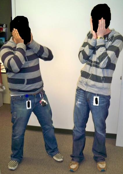 Has this fashion faux pas ever happened to you? What did you do, OR what would you do?