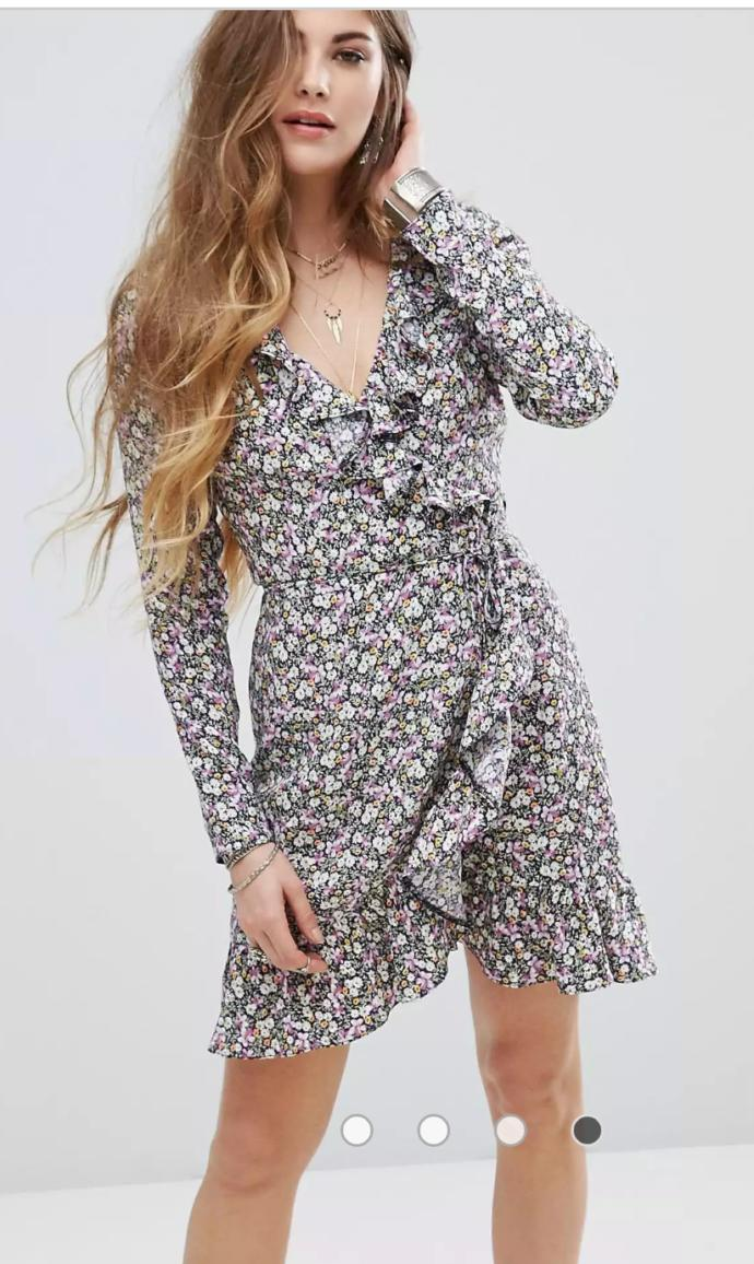 Guys which floral print dress you like most?