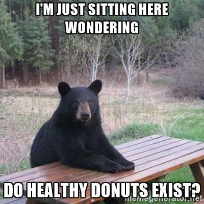 Does a 'healthy' donut exist in the world?