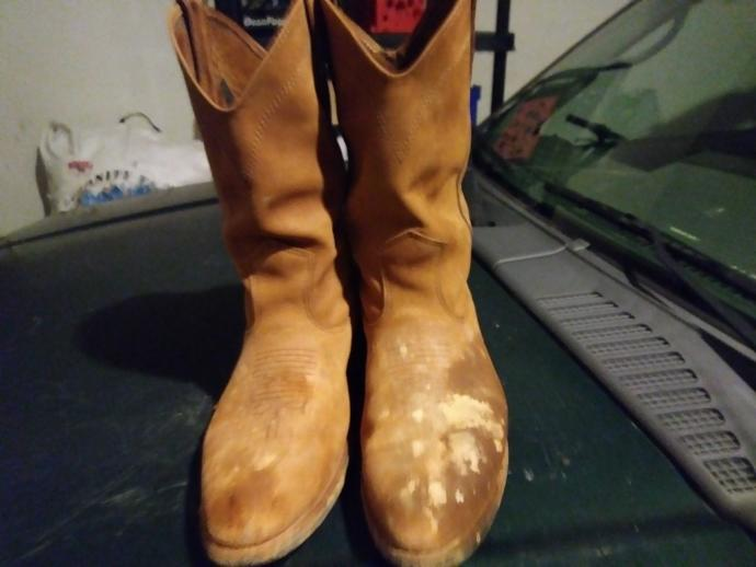 what do u think about my work boots?