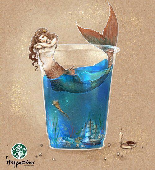 Would you try Starbucks new Dragon AND Mermaid Frappuccino?
