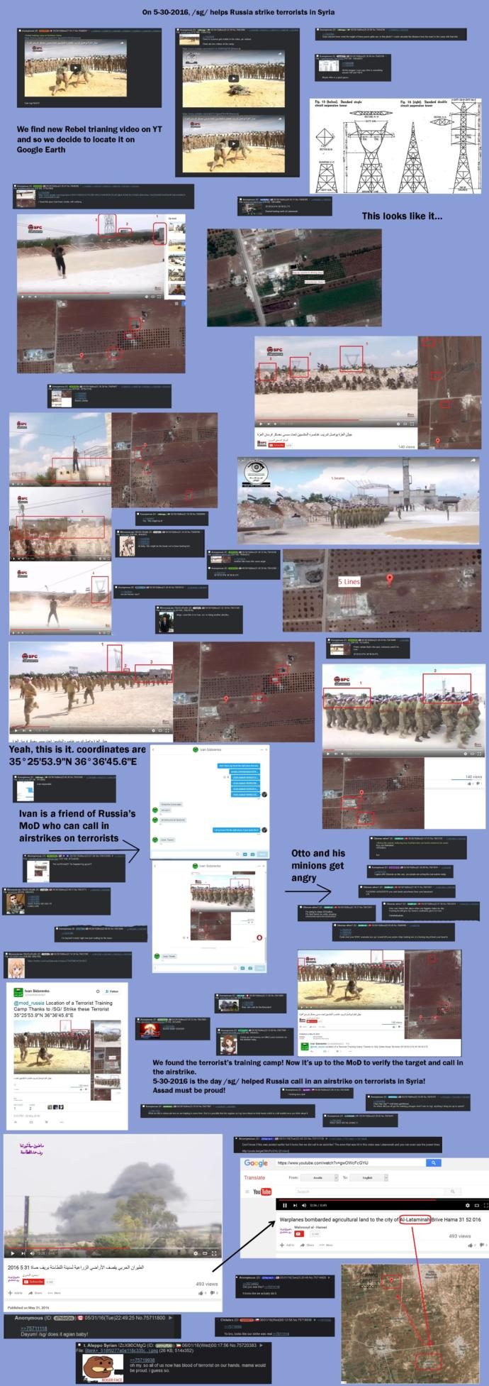 Never thought I'd live to see this day... Did 4chan just call in an airstrike?