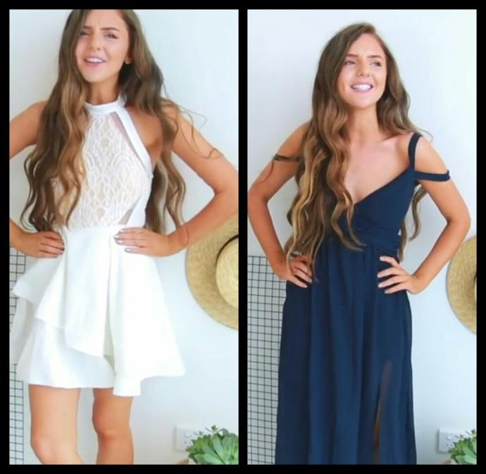 Which dress looks best?