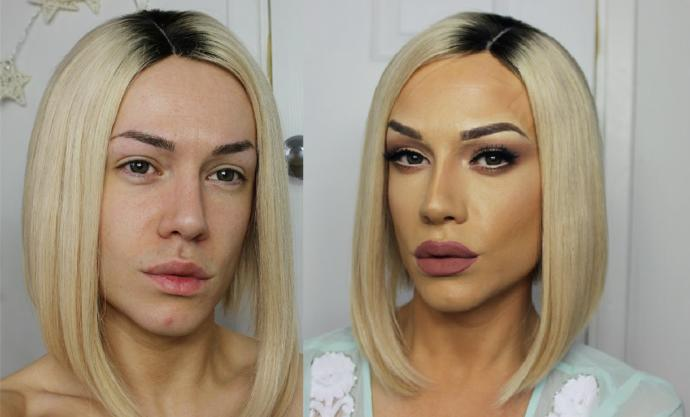 What do you think of drag makeup?
