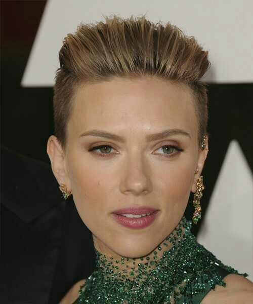 Can a guy have a hairstyle like Scarlett Johansson?