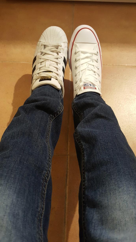 Adidas superstar Vs Converse?